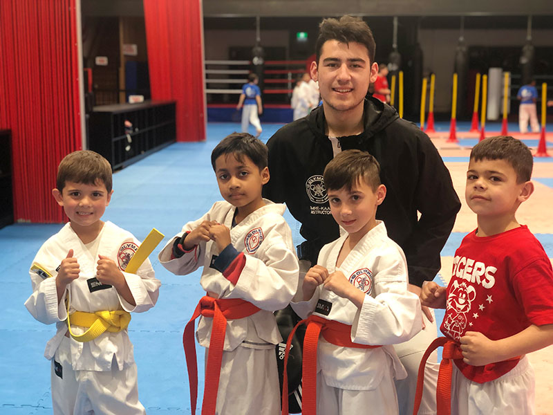 Back To School, Back To Training. Martial Arts And Your Kids' Grades - image back-to-school-blues on https://www.olympicmartialarts.com.au